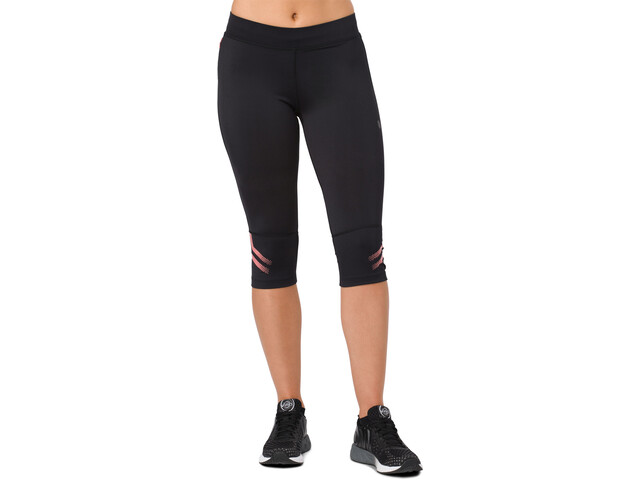 asics Icon Knee Tights Women Performance Black/Coralicious